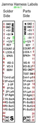 jamma 60 in 1 wiring diagram pci pinout diagram \u2022 wiring diagrams how to build a jamma arcade machine at How To Wire A Jamma Harness