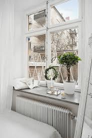 Fensterbank Im Schlafzimmer Dekorieren гостиная Fensterbänke