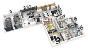 ... Sweet Home 3d Maison A Etage #15   Comment Faire Un Plan De Maison En  ...