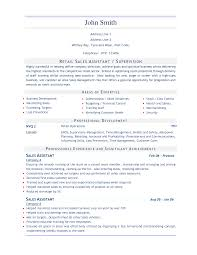 Cover Letter Sample Resume For Retail Sales Sample Resume For