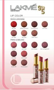 lakme 9 to 5 office stylist range lipsticks all shades chart