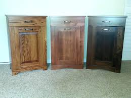 tilt out trash bin double tilt out trash bin wooden kitchen cans with lids