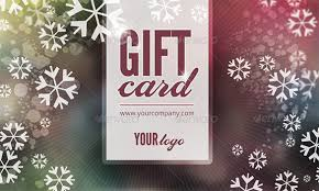 Holiday Gift Card Template Gift Card Template 14 Free Sample Example Format Download Free