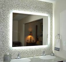 Mirrors Lighted Wall Mirror For Elegant Vanity Design Ideas