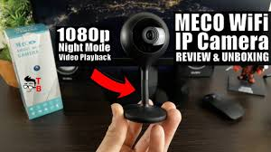 MECO <b>WiFi IP Camera</b> REVIEW: <b>1080P</b> Home <b>Security Camera</b> For ...