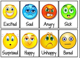 Resultado de imagen de feelings and emotions vocabulary