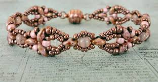 Free Beading Patterns Magnificent Linda's Crafty Inspirations Free Beading Pattern Elinor Bracelet