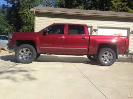 2014 new trucks fit 35s with level kit | Chevy Truck Forum | GMC ...