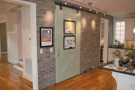 using brick veneer to accent the interior of your home