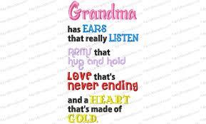 Grandma Embroidery Designs Grandma Heart Of Gold Embroidery Design Embroidery Designs