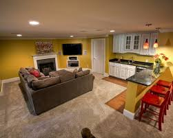 Basement apartment decorating ideas