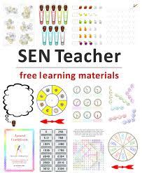 SEN Teacher has printables, specialist links, software downloads ...