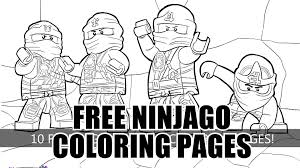 Small Picture 10 Free LEGO Ninjago Coloring Pages for You YouTube