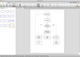 clickcharts diagram flowchart software download macclickcharts diagram flowchart software   from the main window  you can design diagrams by adding