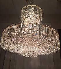 rare vintage modern authentic schonbek swarovski crystal chandelier 16 light
