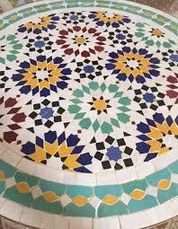 moroccan garden furniture. moroccan tile table garden furniture t