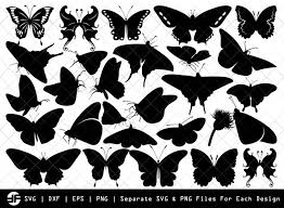 Explore, search and find the best fitting icons or vectors for your projects using wide variety vector library. Butterfly Svg Insect Svg Silhouette Bundle Svg Cut File Etc Craft Bundle Market