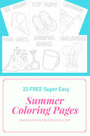 20 Free Summer Coloring Pages Kids Will Love