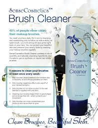 new improved sensecosmetics brush cleaner amazing makeup brush cleaner 5 reasons to clean your makeup brushes each week now