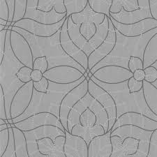 charlotte grey modern floral wallpaper  the home depot
