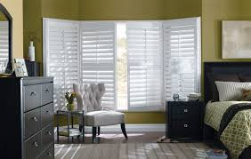 Budget Blinds Bay Windows Roman Shades. Bay Window Composite Shutters
