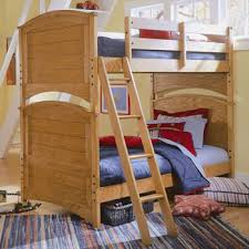 Bedding Graceful Solid Wood Bunk Beds