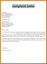 Claim Letters Claim Letter Examples Complaint Template Sample Insurance