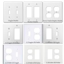 Double Light Switch With Outlet Cover Star Wars Old Poster Toggle Light Switch Plate