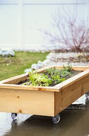 diy rolling planter box how to make
