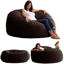 bean bag chair for s king fuf comfort suede room sofa