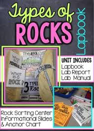 Rocks And Minerals Anchor Chart Rocks And Minerals Lapbook And Lab Report