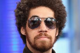 Danger Mouse (Brian Burton) on set of TRL in 2008 - danger-mouse