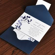 country rustic style floral and navy blue pocket inexpensive Cheap Country Themed Wedding Invitations Cheap Country Themed Wedding Invitations #40 country theme wedding invitations
