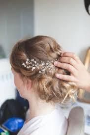 Fotka Kadeřník Je Svatební účes Nevěsty S Blond Vlasy 142324542