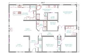 4 Bed 3 Bath House Floor Plans Shoisecom 4 Bedroom 3 Bath House Plans One  Story .