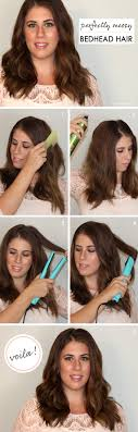 Bed Head Hairstyle hair howto perfectly messy bedhead hair how to curl hair with 3186 by wearticles.com