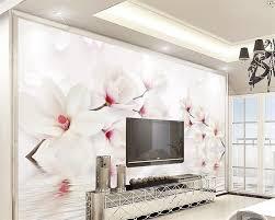 Wall Mural For Living Room Popular Magnolia Wall Mural Buy Cheap Magnolia Wall Mural Lots