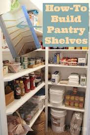 how to build pantry shelves pantry small spaces and shelves l shaped pantry shelves