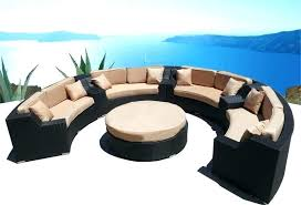 outdoor rounded sectional circular outdoor furniture outdoor sectional patio furniture coastal modern rounded outdoor furniture outdoor rounded sectional