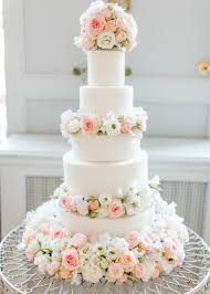 creative of wedding cakes london cherie kelly dusty pink and white