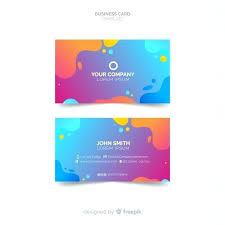 Amazing Business Card Template Vivafashion Info