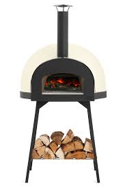 Leggero wood-fired outdoor oven is a large pre-assembled wood-fired outdoor  oven designed by Jamie Oliver for high class cooking outside.