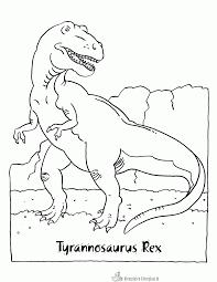 Kleurplaten Van Dinosaurussen