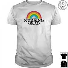 nursing graduation 2019 rainbow t shirt new nurse grad gift t shirt