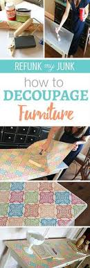 diy decoupage furniture. How To Decoupage Furniture In A Quilt Pattern With Scrapbook Paper. Also, This Chair Was Painted 2 Ounces Of DIY Paint! Diy