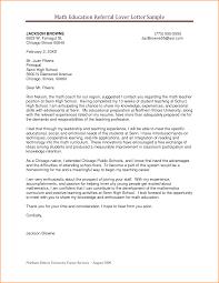 Friend Referral Cover Letter Sample