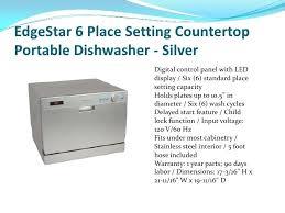 3 tall tub dishwasher 16 inch heller dwh16