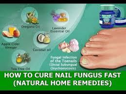 toenail fungus natural treatments how