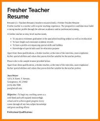 image of Resume for teacher for fresher .Preschool-Teacher-Resume -with-No-Experience.jpg