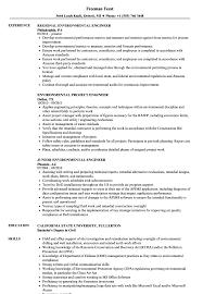 Environmental Engineer Resume Sample Engineer Environmental Resume Samples Velvet Jobs 18